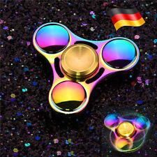 Fidget Spinner Hand Finger Rainbow Spielzeug Metallspinner Regenbogen Farben