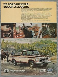 1978-FORD-F-150-advertisement-Ford-pickup-F-150-ad-with-interior-photos