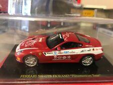 Details about  /FERRARI F599 GTB PANAMERICAN 1:43 inc DISPLAY CASE BRAND NEW
