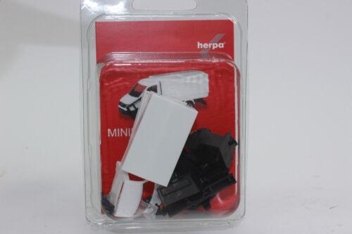Herpa 013451 minikit Man TGE simplemente cabina con camastro y lona blanco 1:87 h0