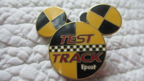 2002 DISNEY EPCOT TEST TRACK TRADING PIN MICKEY MOUSE HEAD EARS ICON