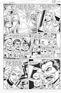 Centurions-Power-X-Treme-Issue-2-Page-10-Original-Comic-Artwork-Don-Heck-Al-Vey