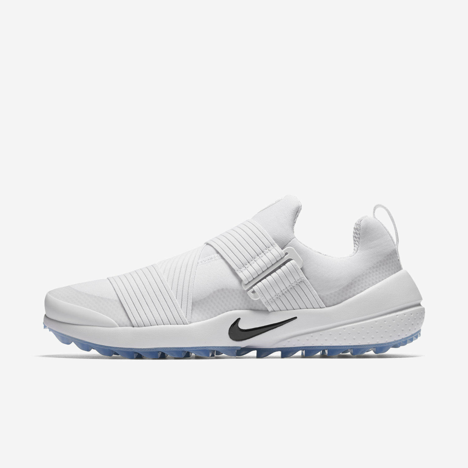 Nike Air Zoom Gimme Men's Spikeless Golf Shoes - White Black 849955-100