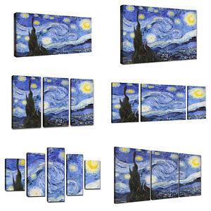 Quadri Moderni XXL Van Gogh La Notte Stellata Quadro Moderno ...
