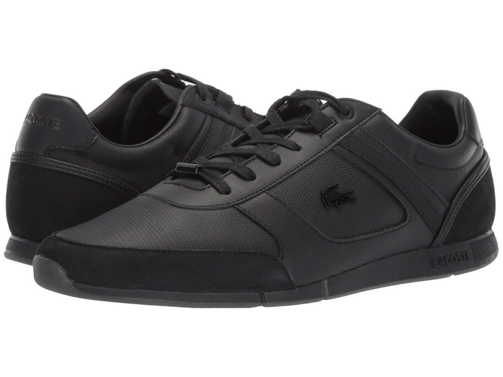 Chaussures Hommes LACOSTE MENERVA 119 2 AMC Lacets Baskets 37CMA005802H Noir
