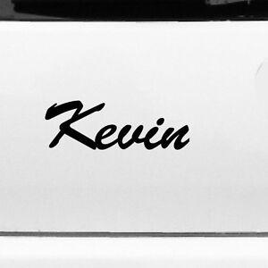 KEVIN-22cm-Habitacion-De-Nino-Nombre-Pegatina-Tatuaje-Lamina-Decoracion