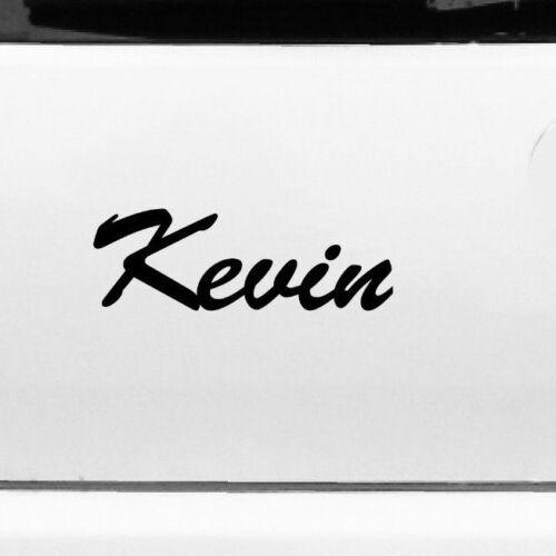 Kevin 22cm Kinderzimmer Name Aufkleber Tattoo Deko Folie Auto Fenster Schrank