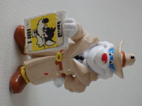 Figurine Publicitaire FLUNCH 1998 inspecteur FLUNCHY 6,5 cm