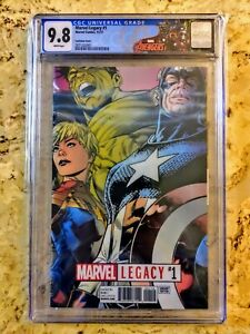 Marvel-Legacy-1-1st-app-1-000-000-BC-Avengers-CGC-9-8-with-Avengers-label
