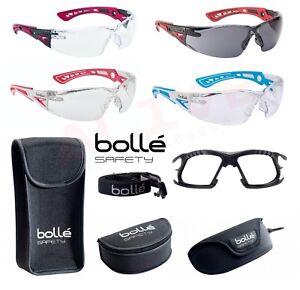 79a98401b3 La imagen se está cargando Gafas-De-Seguridad-Bolle-Rush-Transparente-humo- lente-