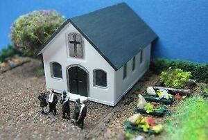 (Z111B) Trauerhalle Spur Gauge Trace Z (1:220) funeral hall - salle de deuil