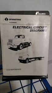 [DIAGRAM_5NL]  INTERNATIONAL Truck Navistar Electrical Circuit Wiring Diagrams schematics  | eBay | International Trucks Wiring Diagrams |  | eBay