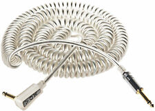 Vox 9m / 27ft Vintage Retro Coil / Coily Guitar Cable / Lead (Silver) - New!