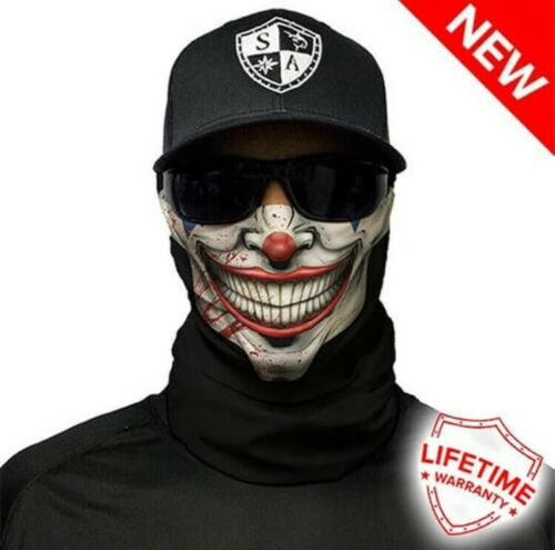 - New in package Balaclava Neck Gaiter Mr. Jokester Salt Armour SA Face Shield