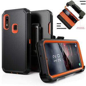 For-Samsung-Galaxy-A10e-A20-Shockproof-Case-Cover-Clip-Fits-Otterbox-Defender