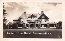 BERNARDSVILLE, NJ ~ EASTERN STAR HOME ~ KOENIG REAL PHOTO POST CARD ~ c. 1940s