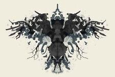 Framed Print - Psychology Ink Blot (Picture Mental Health Mind Yoga Medical Art)