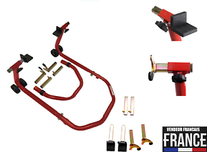 Leve-roue-arriere-avant-reglable-moto-Bequille-d-039-atelier-Paddock-stand-503342