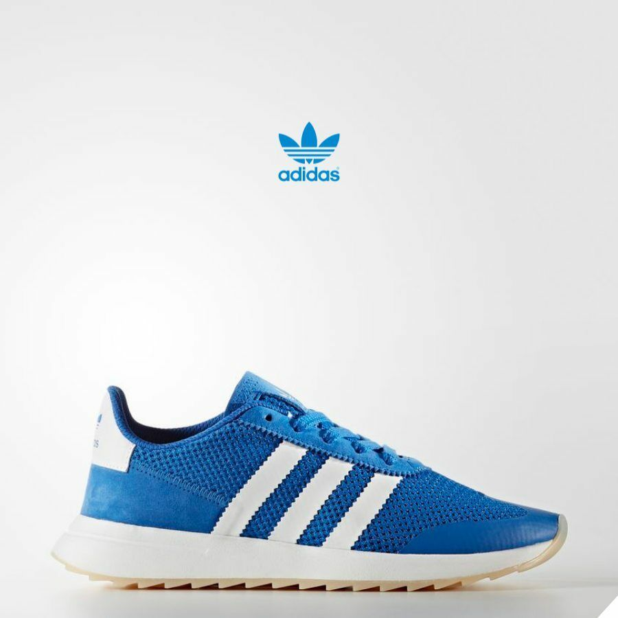 Adidas Originals Flash Back Shoes Runner Athletic Blue BA7757 Price reduction Casual wild