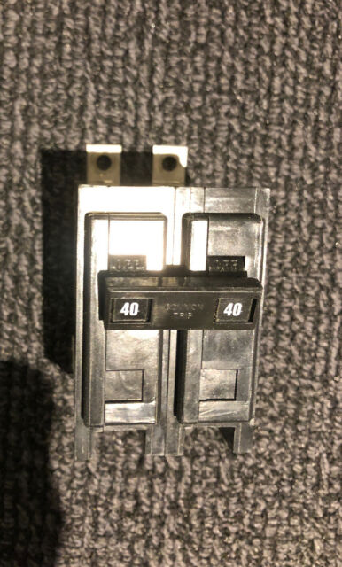 Cutler-Hammer BAB2040H 2-Pole 120//240v 40Amp Circuit Breaker