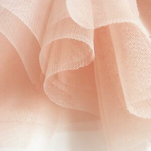 Blush-Pastel-Peach-Pink-Soft-Tulle-Veiling-Fabric-150cm-wide-by-the-metre