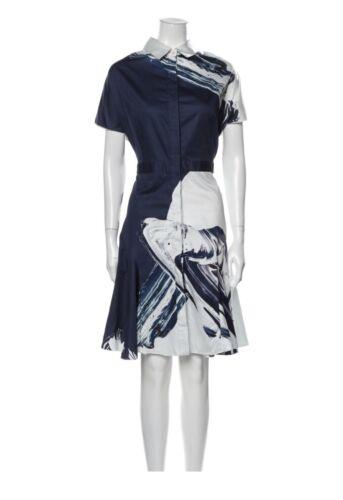 Prabal Gurung Cotton Shirt Dress Size 12