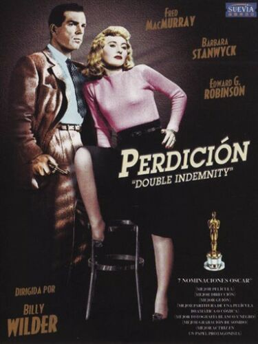 Double indemnity Barbara Stanwyck  movie poster #4