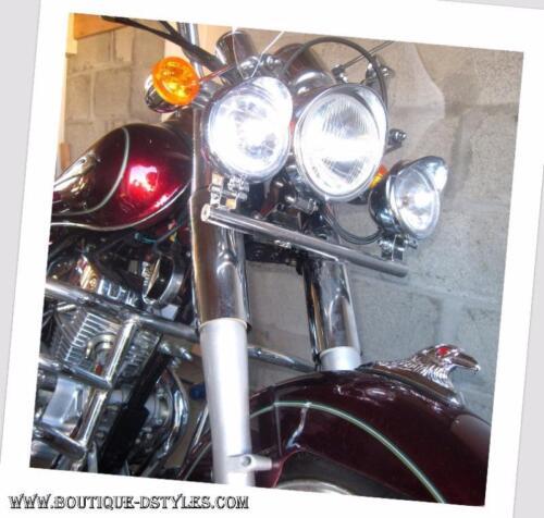 moto custom trike Tête d/'Aigle d/'ornement en Métal pour garde boue 4 Modéles