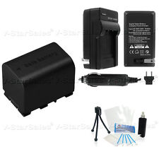 BN-VG121 Battery + Charger for JVC Everio Camcorders