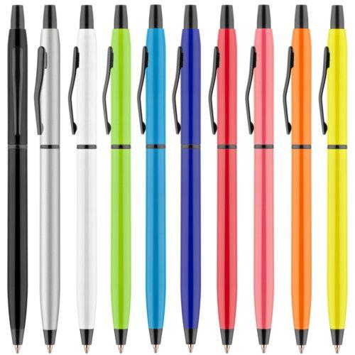 Kugelschreiber FLORETTE Metall mit Gravur Logo Text graviert