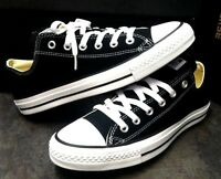 Converse Chuck Taylor All Star Black White OX M9166 Canvas Athletic Sneakers