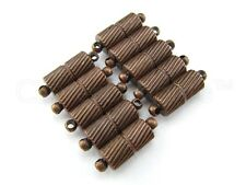 10 Magnetic Clasp Converters - Spiral Style - Copper Color - Jewelry Necklace