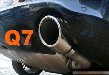 AUDI Q7 06-14 EMBOUTS CHROMES SORTIE POT ECHAPPEMENT QUATTRO SLINE V6 V8 TDI FSI