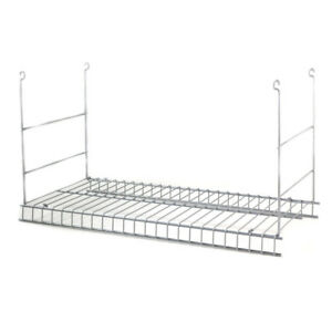 Closetmaid White Wire Add On Hanging Kit 24 In Shelf Storage Easy