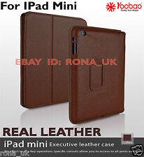GENUINE Yoobao Executive Elegant Real Leather Quality Case i for Pad Mini_COFFEE