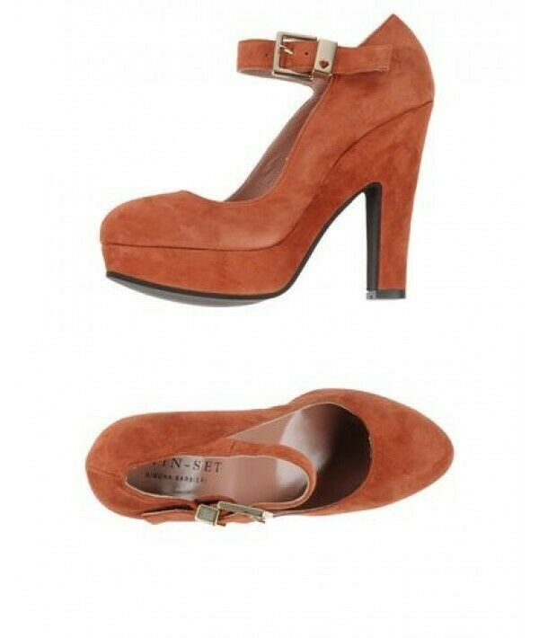 Zapatos para mujer moho Simona Barbieri Tribunal De Cuero Cuero Cuero Suave (Tamaño 6 UK, tamaño 39)  salida de fábrica
