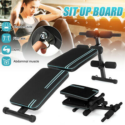 Sit-ups Bench,Adjustable Benches Board Folding Supine Dumbbell Bench Abdominal Trainers Workout Exercises Fitness Machine