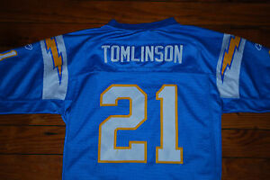 64d05d8bf 21 LaDainian Tomlinson San Diego Chargers Powder Blue Jersey (Youth ...
