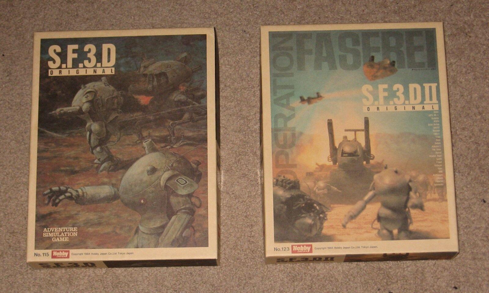 SF3D MA. K ZvB3000 & S.F.3.D II Opération faserei-Hobby Japan jeux non perforé