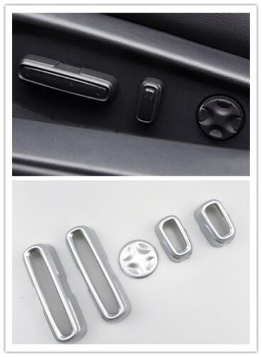 ABS matte Seat Adjustment Button Cover Trim 5pcs For Honda Accord 2018