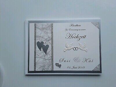 Beliebte Marke Hardcover-gästebuch/fotoalbum, Hochzeit, Erinnerung, Geschenk, Weiß-silber,dina5