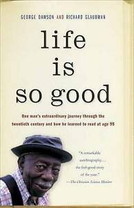 Life-Is-So-Good-Glaubman-Richard-Dawson-George-Very-Good-Book
