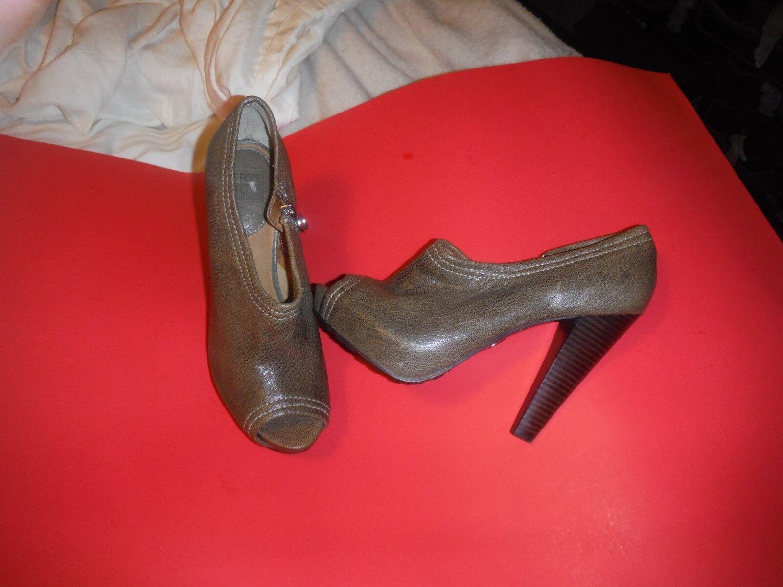 NEU FRYEGreeneddie PumpSchuhes Heels Sz 9 m open toes