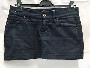 minigonna-jeans-donna-Fornarina-cotone-elasticizzato-taglia-S