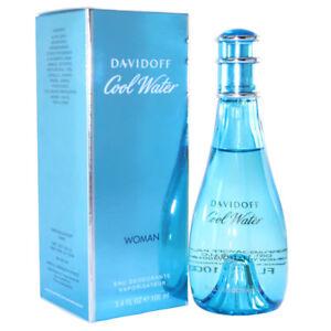 DAVIDOFF COOL WATER PROFUMO DONNA EAU DEODORANTE NATURAL SPRAY 100ML