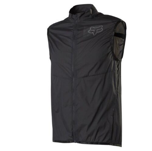 Fox Racing Mountain Bike Dawn Patrol Wind Vest Black Small