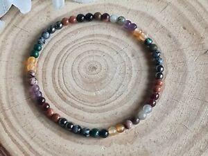 ARTHRITIS, RHEUMATISM support gemstone bracelet, genuine natural stones , 4mm