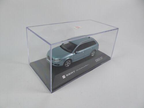 Fischer Diecast Dealer Miniatur Modellauto SE17 Seat Exeo St Nayara Blue 1:43