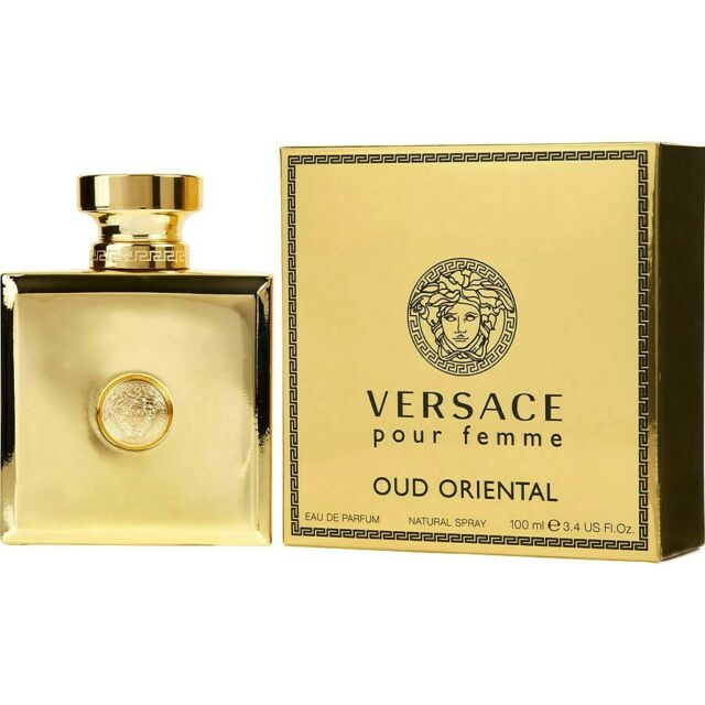 Versace Pour Femme Oud Oriental Fragrance for Women 100ml EDP Spray