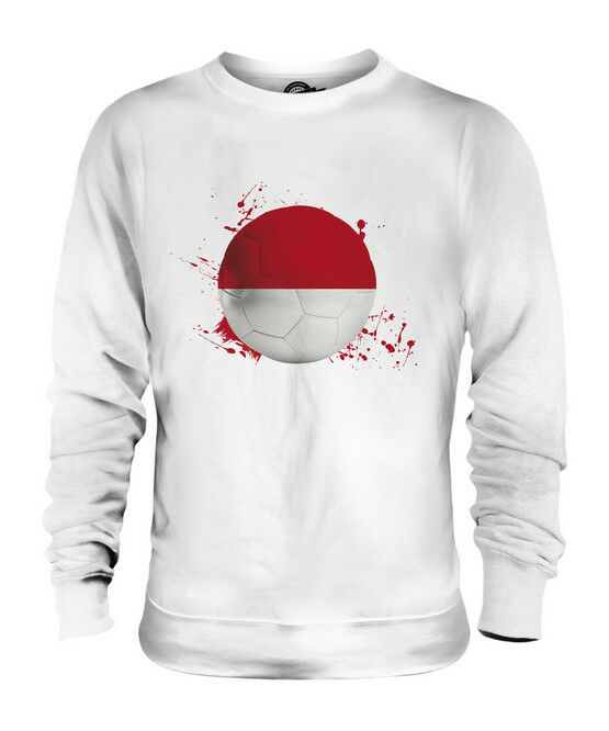 INDONESIA FOOTBALL UNISEX SWEATER  TOP GIFT WORLD CUP SPORT